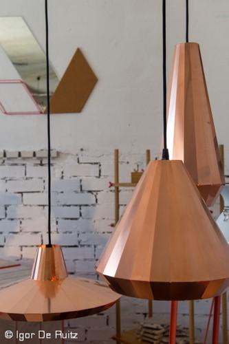 Copper Lights designed by David Derksen