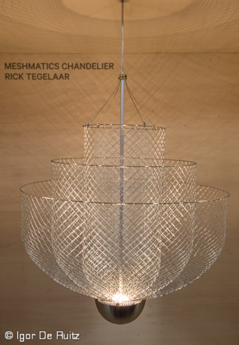 Meshmatics Chandelier by Rick Tegelaar