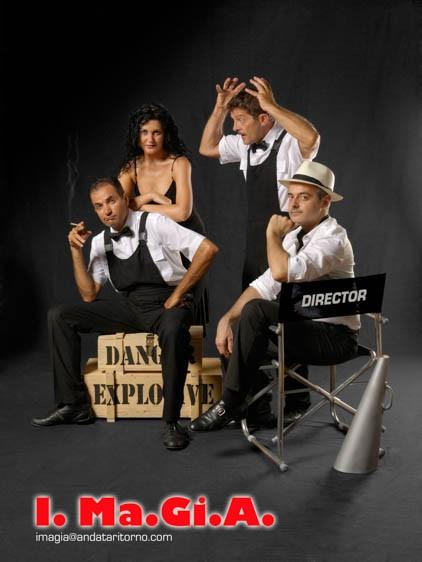 The I.Ma.Gi.A. illusionism team