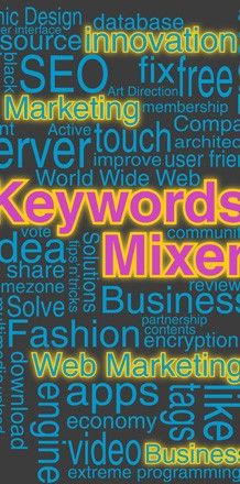 Keywords Mixer - Applicazione gratuita per il web marketing.