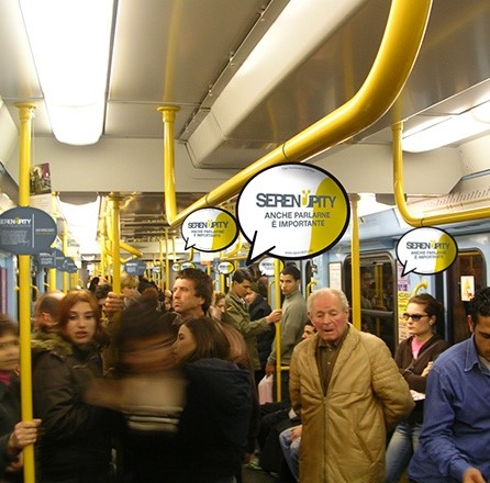 Serendipity - Advertising / guerrilla marketing.