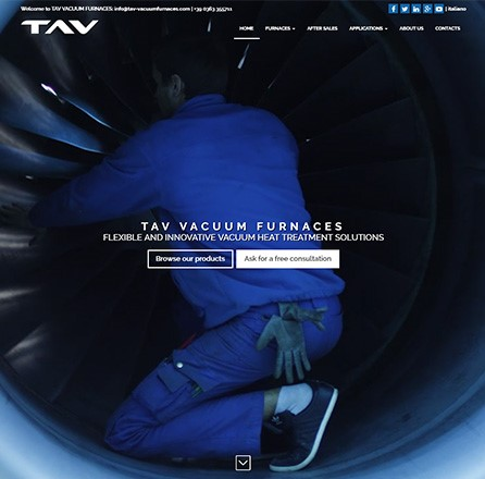 TAV - Web design / fotografia / video / landing page / web marketing / content marketing / strategia social media / web analytics.