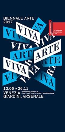 La Biennale Arte 2017 - Sponsorship of La Biennale Arte Venezia.