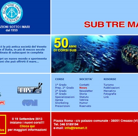 Sub Tre Mari - Branding / merchandising / advertising / web design / e-commerce / web marketing / landing page / web analytics.