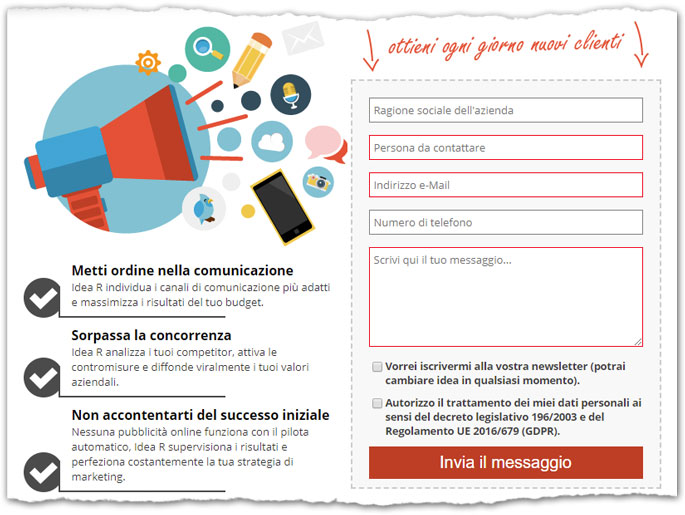 Integra facilmente il web marketing